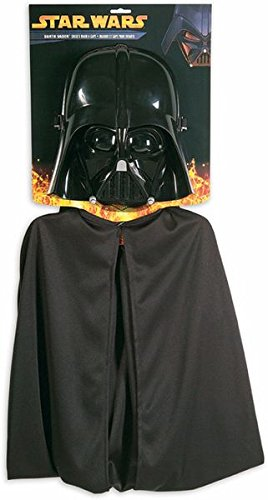 Star Wars Darth Vader Kids Cape and Mask Costume Set
