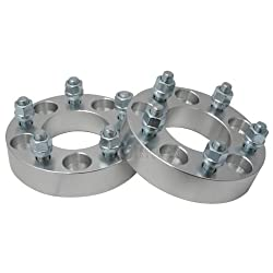(2) 1″ (25mm) | 5×114.3 (5×4.5) to 5×100 Wheel Adapters / Spacers | 12×1.5 Studs | 1.0 inch Thick