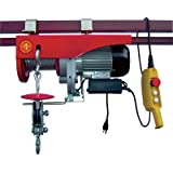 Northern Industrial Tools Heavy-Duty Electric Hoist - 2,000-Lb. Double Line/1,000-Lb. Single Line Capacity