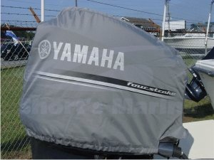 Cheap deluxe yamaha outboard f250 motor cover four for Yamaha boat cover