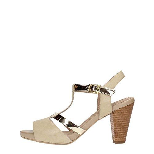 Stonefly 106469 Sandalo Donna Pelle Platino/Fog Platino/Fog 37