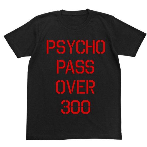 PSYCHO-PASS サイコパス 犯罪係数Tシャツ ブラック サイズ:L