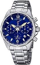 Comprar Festina hombre reloj de cuarzo con cronógrafo azul y plata pulsera de acero inoxidable f6835/3