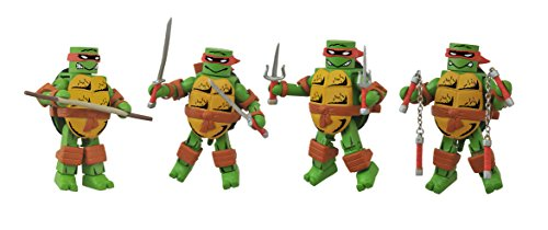 Diamond Select Toys Teenage Mutant Ninja Turtles: First Appearance Minimates Box Set Action Figure