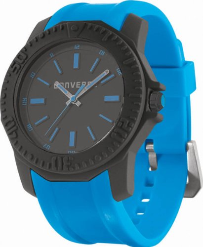 Converse Men's VR016460 Arena Classic Analog and Blue Polyurethane Strap Watch