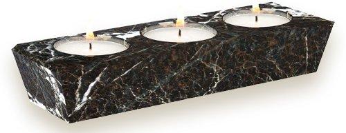 black-marble-3-hole-tea-light-candle-holder-tea-lights-included