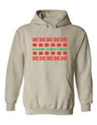 Festive Threads Greetings Christmas Sweatshirt