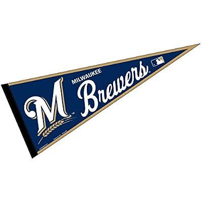 Milwaukee Brewers MLB Large Pennant