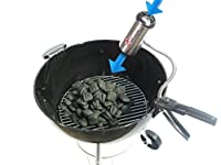 BBQ Dragon Charcoal Starter and Fire Supercharger for Barbecue Grills, Fire Pits, Camping, Fireplaces, and Pit Masters by BBQ Dragon