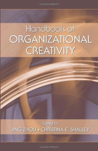 Handbook of Organizational Creativity
