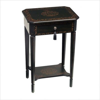 Cheap Bailey Street MAT067 Regents Park End Table, Ebony (B000R9K4MI)