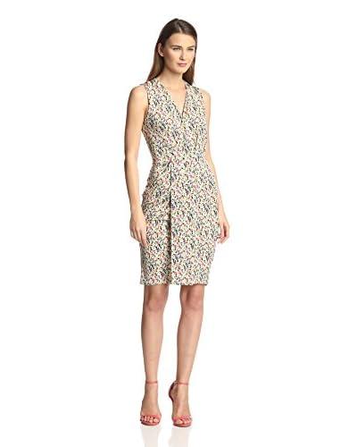 Leota Women's Sleeveless Lizzie Faux Wrap Dress