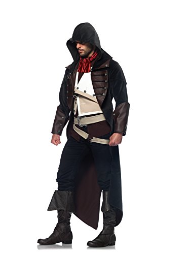 Leg Avenue Men's Assassin's Creed 7 Piece Arno Costume