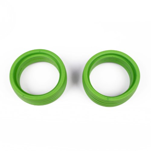 Atomik Griplox Molded Inserts for 1:8 Buggy Soft Green 2Pcs - 1