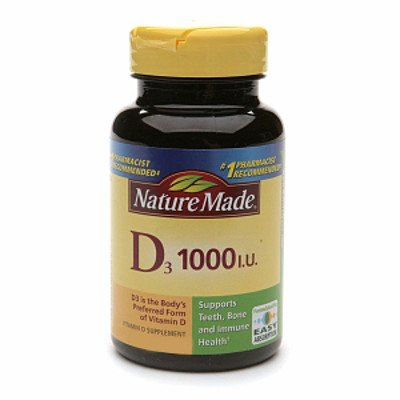Nature Made Vitamin D3 1000 I. U., 560 Tablets