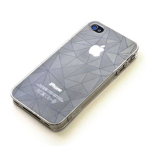 Gray ROCK dazzling serious case for Apple Iphone 4 4s