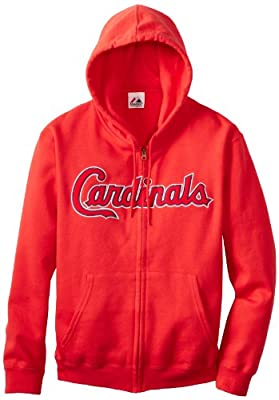 MLB St. Louis Cardinals Shut Out Fleece, Athletic Red