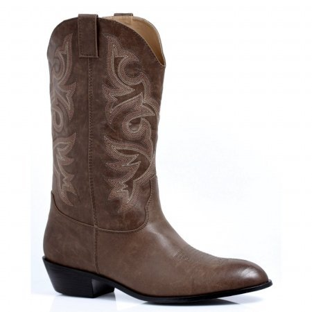 Ellie Shoes 217766 Mens Adult Brown Cowboy Boots Brown Small - 8-9