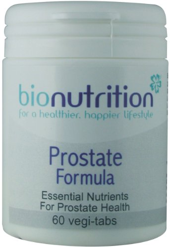 Bio Nutrition Prostate Formula : Men's health nutrients : Saw Palmetto and Zinc : 60 vegi-tabs