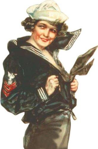 Corgi Gee I Wish I Were A Man Naval Reserve Figure 1/32