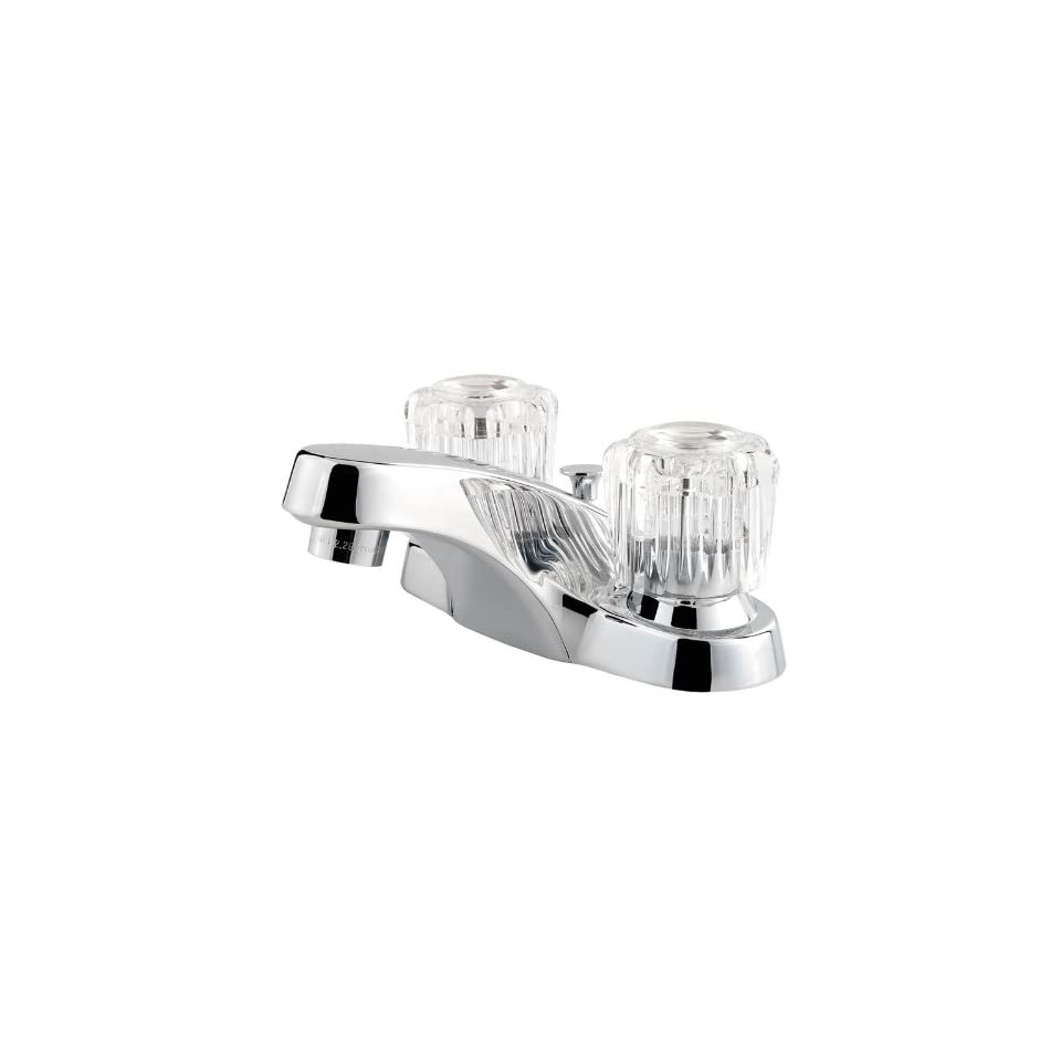 Pfister F WL2 200 Classic Centerset Bathroom Sink Faucet (Low Lead Compliant), Polished Chrome