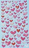 NEU Softy Stickers ´Herzen´ PREISHIT