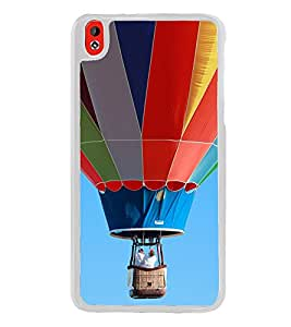 Multi Colour Hot Air Balloon 2D Hard Polycarbonate Designer Back Case Cover for HTC Desire 816 :: HTC Desire 816 Dual Sim :: HTC Desire 816G Dual Sim