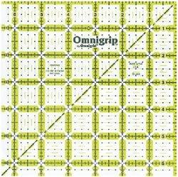 Dritz Omnigrip Non Slip Quilters Ruler 6 1/2