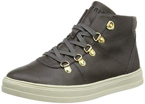 ESPRIT Sidney Bootie, Sneaker alta donna, Grigio (Grau (025 brown grey)), 40