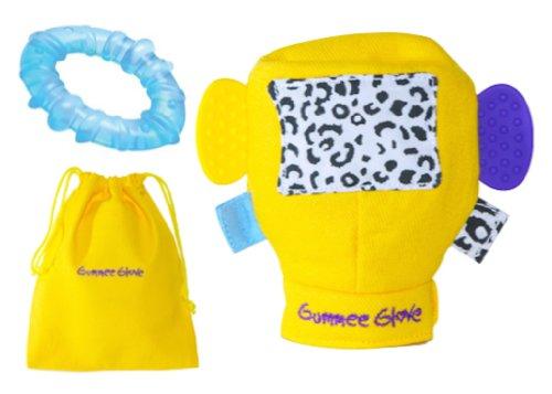 Gummee Glove Teething Mitten Teether Teething Ring Blue front-1020438
