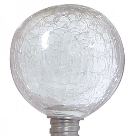 Allsop 29035 Solar-Powered Clear ;Globe Garden Art