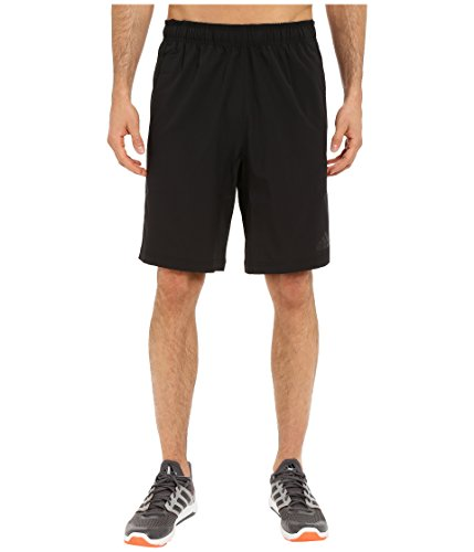 adidas Performance Men's Team Issue Woven Shorts, XX-Large, Black/Black