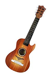 Happy Tune 6 String Acoustic Guitar Toy for Kids with Vibrant Sounds and Tunable Strings from Liberty Imports