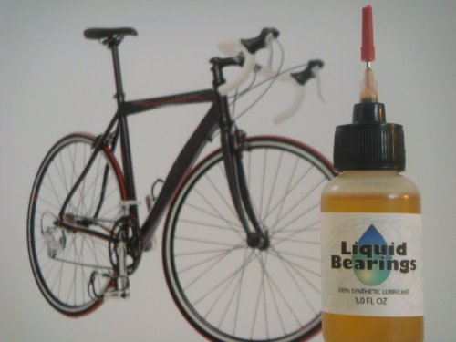 Liquid Bearings synthetic oil for Bicycles, Provides Superior Lubrication, Also Inhibits Corrosion