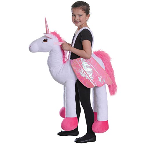 Equitation-Unicorn-enfants-Costume-de-dguisement