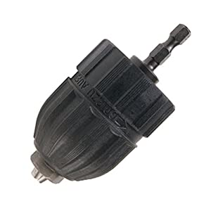 Hitachi 725405 3/8-Inch Keyless Conversion Chuck for 1/4-Inch Hex Impact Drivers