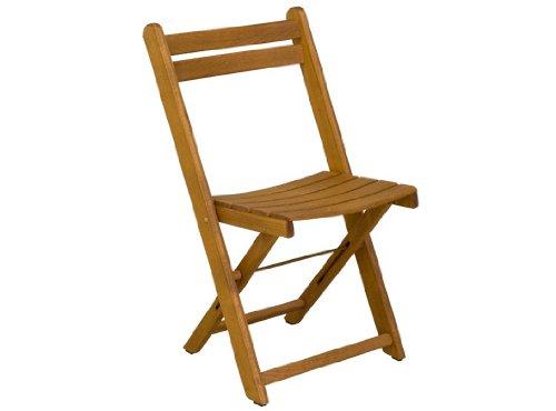 Gartenstuhl No 9 – Klappstuhl stapelbar aus Holz – braun lackiert – Qualität aus Deutschland günstig online kaufen