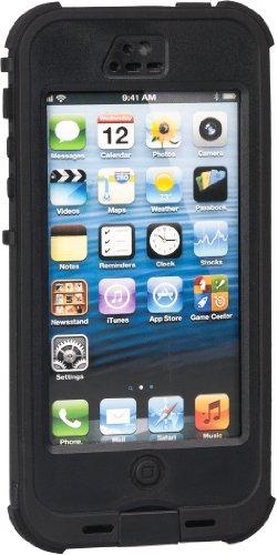 iphone5s 5 強化ガラス 防水防塵耐震 スーパースリムケース iphone5s/5 beauty case (ブラック)