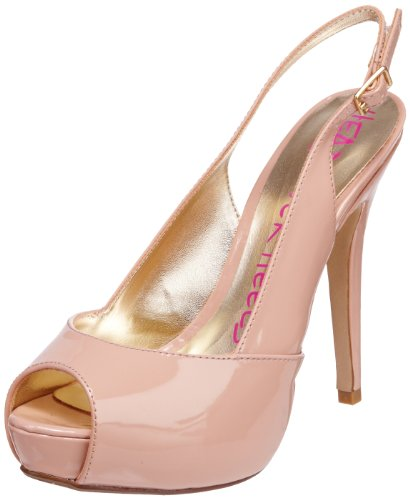Head Over Heels Women's Maple Sandal Nude S11L/PU12/SDS0089 7 UK