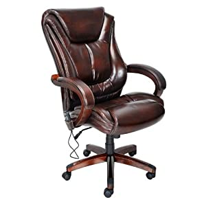 Amazon.com - Lane Executive Leather Office Chair with Padded