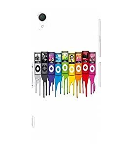 EPICCASE Rainbow players Mobile Back Case Cover For Sony Xperia Z2 (Designer Case)