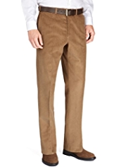Sartorial Luxury Winter Weight Cotton Rich Active Waistband Corduroy Trousers