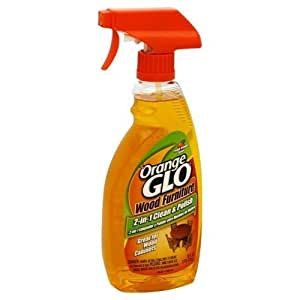 Orange Glo Wood Cleaner And Polish Pack Of 6 Pet Spray Bottles Pet Supplies