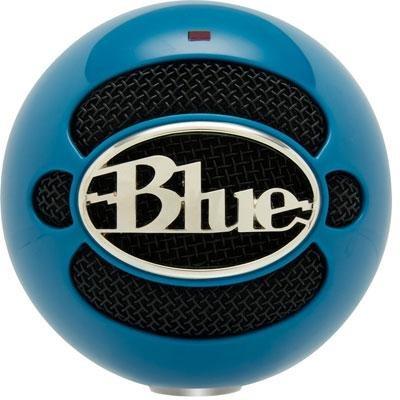 Snowball Usb Mic Neon Blue