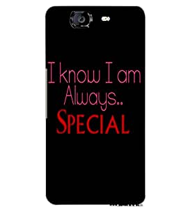 MICROMAX A350 CANVAS KNIGHT SPECIAL Back Cover by PRINTSWAG