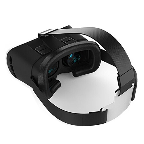 3D VR Glasses,Virtual Reality 3D Headset Box Suitable for 3D Movies and Games (A)