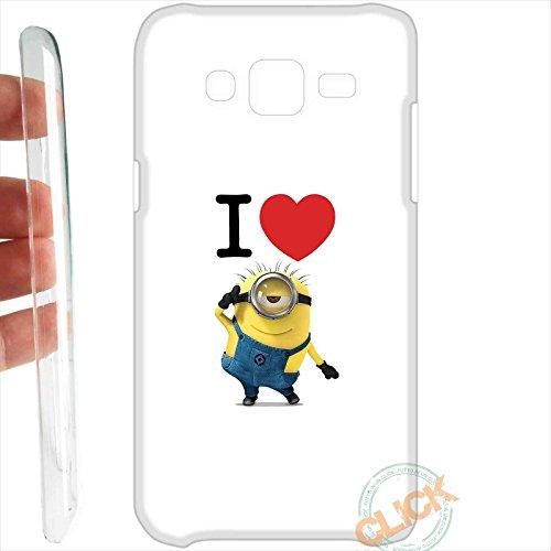 Custodia cover RIGIDA per Samsung Galaxy J5 J500 069 minion love