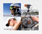 Multi-Halterung, Clip-Halter, Stativanschluss, Windschutz