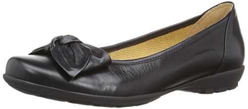 Gabor - Ballerine, Donna, Nero (Black (Black Leather)), 42 (8 uk)