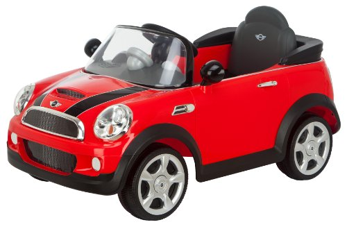 Kid Trax Mini Cooper 6V Electric Car, Red